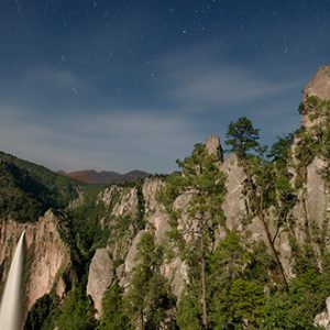 Cascadas en Barrancas del Cobre